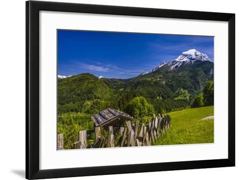 Germany, Bavaria, Upper Bavaria, Berchtesgadener Land (District), Ramsau Near Berchtesgaden-Udo Siebig-Framed Art Print