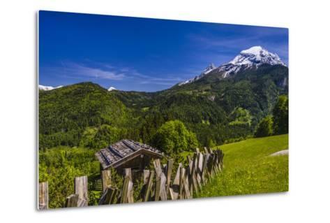 Germany, Bavaria, Upper Bavaria, Berchtesgadener Land (District), Ramsau Near Berchtesgaden-Udo Siebig-Metal Print