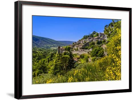 France, Provence, Vaucluse, Bonnieux, View of the Village-Udo Siebig-Framed Art Print