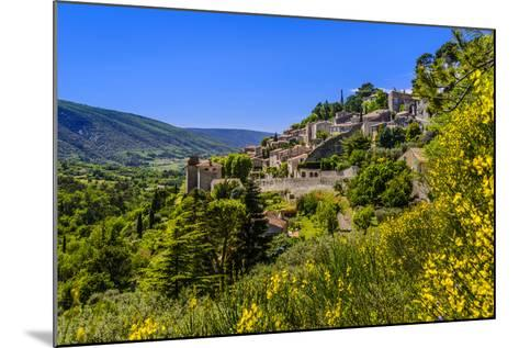 France, Provence, Vaucluse, Bonnieux, View of the Village-Udo Siebig-Mounted Photographic Print