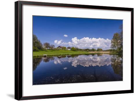 Germany, Bavaria, Upper Bavaria, F?nfseenland, Nut Mountain-Udo Siebig-Framed Art Print