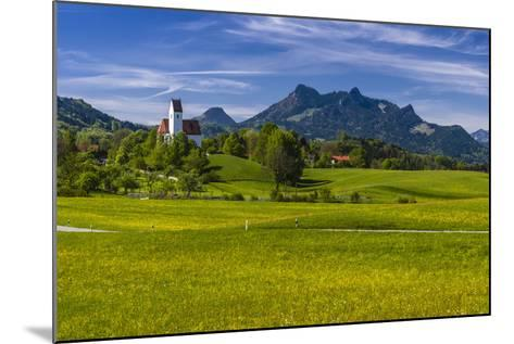 Germany, Bavaria, Upper Bavaria, Chiemgau, Samerberg (Mountain-Udo Siebig-Mounted Photographic Print