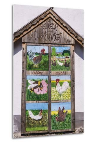 Germany, Bavaria, Upper Bavaria, T?lzer Land, Schlehdorf Am Kochelsee, Sales Cupboard-Udo Siebig-Metal Print