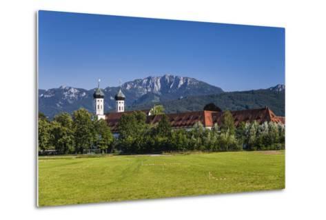 Germany, Bavaria, Upper Bavaria, T?lzer Land, Benediktbeuern-Udo Siebig-Metal Print