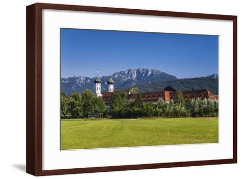 Germany, Bavaria, Upper Bavaria, T?lzer Land, Benediktbeuern-Udo Siebig-Framed Art Print