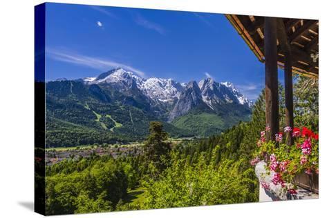 Germany, Bavaria, Upper Bavaria, Werdenfelser Land, Zugspitz Region-Udo Siebig-Stretched Canvas Print