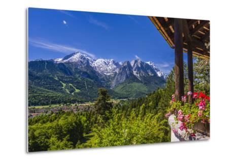 Germany, Bavaria, Upper Bavaria, Werdenfelser Land, Zugspitz Region-Udo Siebig-Metal Print
