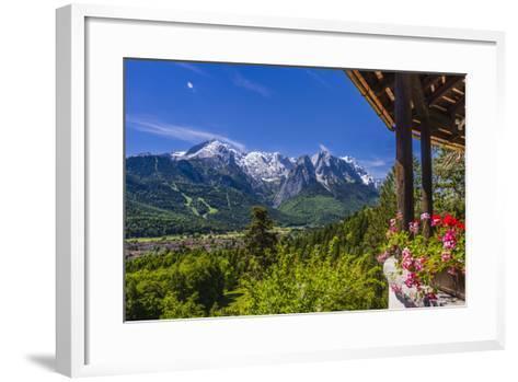 Germany, Bavaria, Upper Bavaria, Werdenfelser Land, Zugspitz Region-Udo Siebig-Framed Art Print