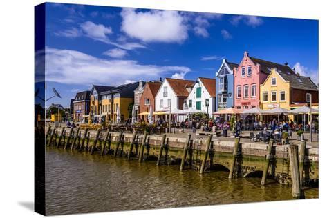 Germany, Schleswig-Holstein, North Frisia, 'Husumer Bucht' (Bay), Husum-Udo Siebig-Stretched Canvas Print