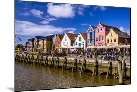 Germany, Schleswig-Holstein, North Frisia, 'Husumer Bucht' (Bay), Husum-Udo Siebig-Mounted Photographic Print