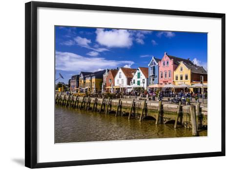 Germany, Schleswig-Holstein, North Frisia, 'Husumer Bucht' (Bay), Husum-Udo Siebig-Framed Art Print