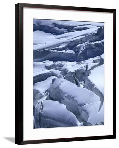 Icefall-Thonig-Framed Art Print