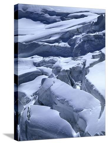 Icefall-Thonig-Stretched Canvas Print