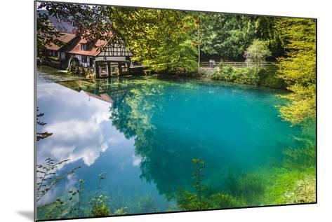 Germany, Baden-Wurttemberg, Swabian Alp, Blautal (Blau Valley), Blaubeuren-Udo Siebig-Mounted Photographic Print