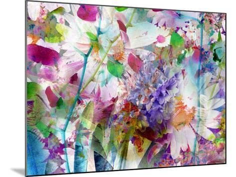 A Floral Montage Photographic Layer Work-Alaya Gadeh-Mounted Photographic Print
