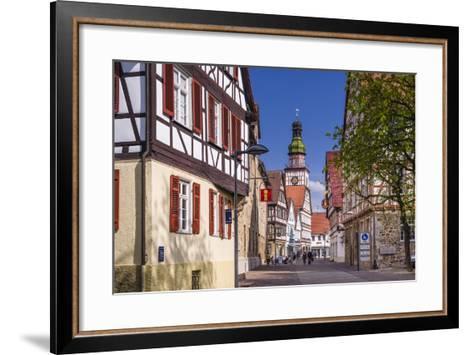 Germany, Baden-Wurttemberg, Kirchheim Unter Teck-Udo Siebig-Framed Art Print