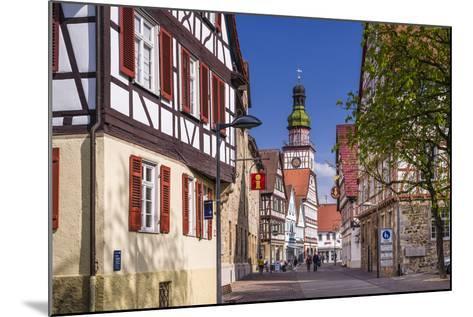 Germany, Baden-Wurttemberg, Kirchheim Unter Teck-Udo Siebig-Mounted Photographic Print