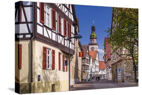Germany, Baden-Wurttemberg, Kirchheim Unter Teck-Udo Siebig-Stretched Canvas Print