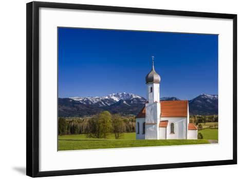 Germany, Bavaria, Upper Bavaria, Pfaffenwinkel, Penzberg-Udo Siebig-Framed Art Print