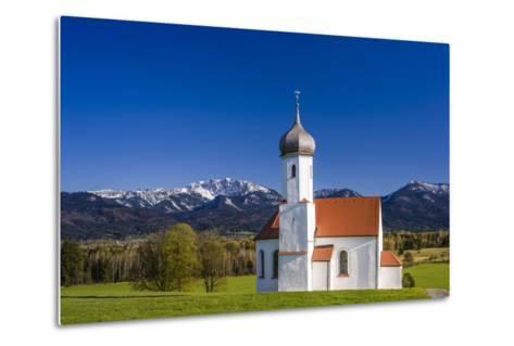 Germany, Bavaria, Upper Bavaria, Pfaffenwinkel, Penzberg-Udo Siebig-Metal Print