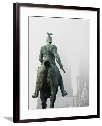 Germany, North Rhine-Westphalia, HohenzollernbrŸcke-Andreas Keil-Framed Art Print