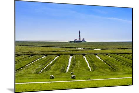 Germany, Schleswig-Holstein, North Frisia, Peninsula Eider (River)Stedt, Westerhever-Udo Siebig-Mounted Photographic Print
