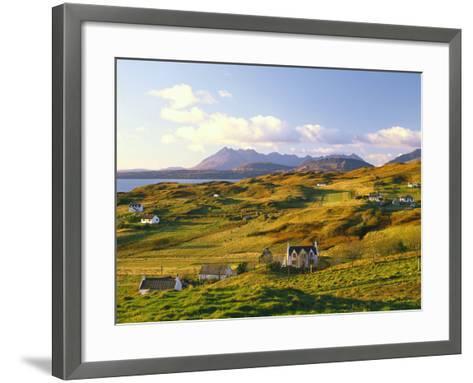 Great Britain, Scotland, Hebrides, Island Skye, Tarskavaig, Cuillin Hills-Thonig-Framed Art Print