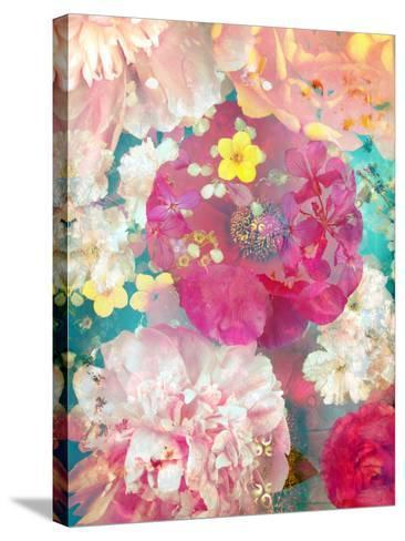 Composing of Blossoms-Alaya Gadeh-Stretched Canvas Print
