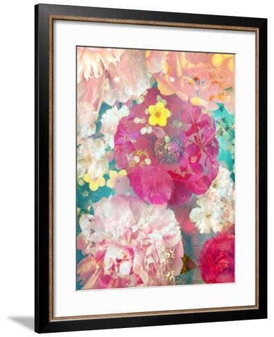 Composing of Blossoms-Alaya Gadeh-Framed Art Print