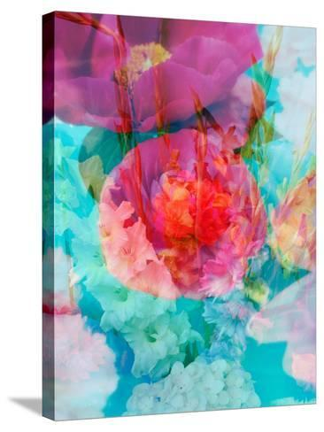Photomontage of Flowers in Water-Alaya Gadeh-Stretched Canvas Print