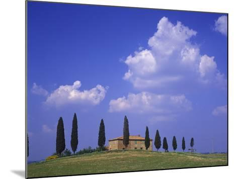 Italy, Tuscany, Siena, Pienza, Grange Province-Udo Siebig-Mounted Photographic Print