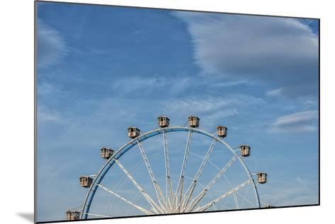 Frankfurt on the Main, Hesse, Germany, Ferris Wheel at the Frankfurt Spring Fair Dippemess-Bernd Wittelsbach-Mounted Photographic Print