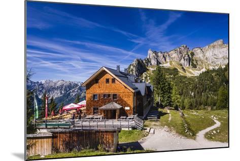 Austria, Tyrol, Achensee Region, Rofangebirge (Mountains), Maurach (Village) at the Achensee-Udo Siebig-Mounted Photographic Print