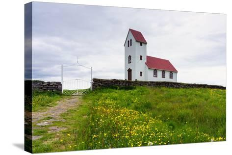 Church at the Pingvallavatn-Catharina Lux-Stretched Canvas Print