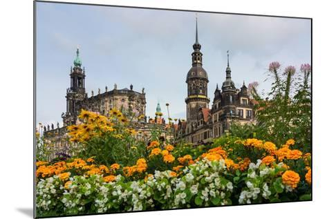 Dresden, Summer, Dresden Cathedral, Castle-Catharina Lux-Mounted Photographic Print
