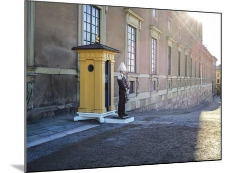 Stockholm Palace, Guard, West Front-Frina-Mounted Photographic Print