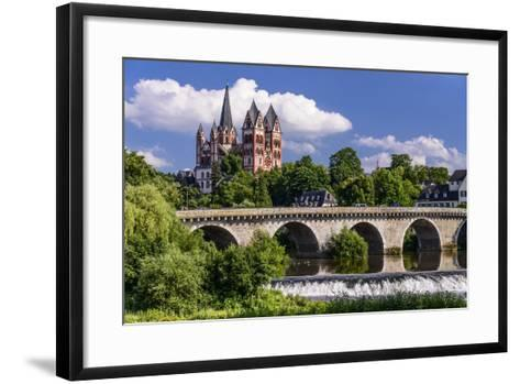 Germany, Hessen, Taunus (Region), Lahn, Limburger Becken-Udo Siebig-Framed Art Print