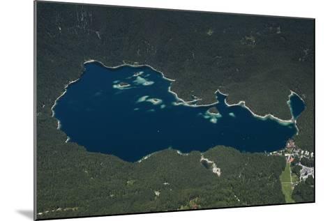 Eibsee, Lake Eibsee Hotel, Grainau, Resort, Tourism Region-Frank Fleischmann-Mounted Photographic Print