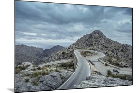Mountain Pass Road on Majorca, Sa Calobra, Serpentine-Jorg Simanowski-Mounted Photographic Print