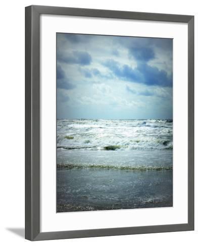 North Sea Beach Netherlands-Alaya Gadeh-Framed Art Print