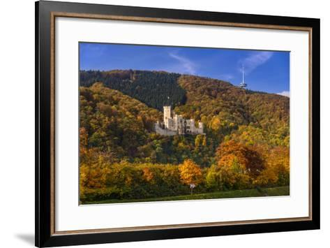 Germany, Rhineland-Palatinate, Upper Middle Rhine Valley, Koblenz, District Stolzenfels-Udo Siebig-Framed Art Print