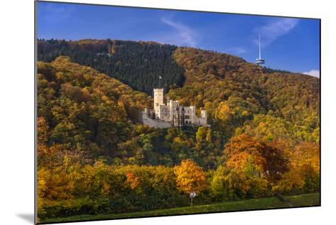 Germany, Rhineland-Palatinate, Upper Middle Rhine Valley, Koblenz, District Stolzenfels-Udo Siebig-Mounted Photographic Print