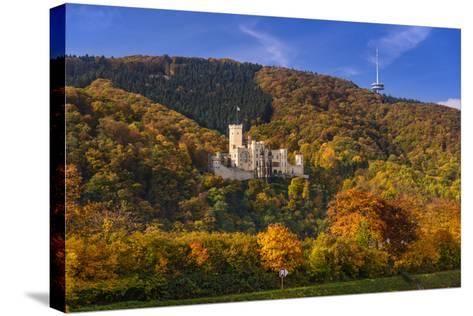 Germany, Rhineland-Palatinate, Upper Middle Rhine Valley, Koblenz, District Stolzenfels-Udo Siebig-Stretched Canvas Print