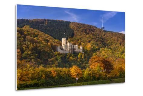 Germany, Rhineland-Palatinate, Upper Middle Rhine Valley, Koblenz, District Stolzenfels-Udo Siebig-Metal Print
