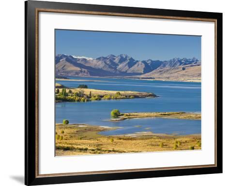 Lake Tekapo, Canterbury, South Island, New Zealand-Rainer Mirau-Framed Art Print