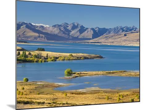 Lake Tekapo, Canterbury, South Island, New Zealand-Rainer Mirau-Mounted Photographic Print
