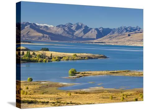 Lake Tekapo, Canterbury, South Island, New Zealand-Rainer Mirau-Stretched Canvas Print