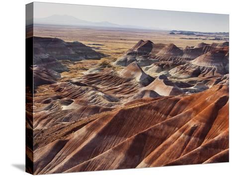 Painted Desert, Winslow, Arizona, Usa-Rainer Mirau-Stretched Canvas Print