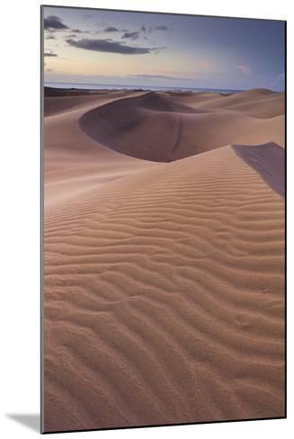 Dunes Close Maspalomas, Gran Canaria, Canary Islands, Spain-Rainer Mirau-Mounted Photographic Print