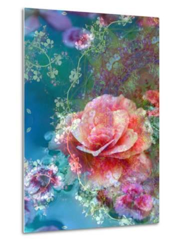 Floral Montage-Alaya Gadeh-Metal Print